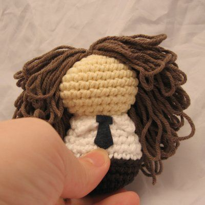 Crochet Doll Hair How To : ... hair NeedleNoodles: Crochet Patterns, Knit Patterns, Amigurumi