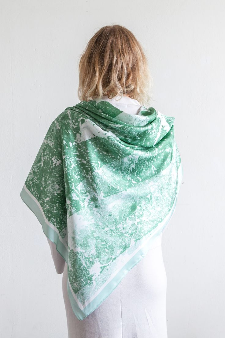 Cashmere Silk Scarf - Mirage of Dreams by VIDA VIDA