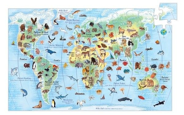 Djeco - Discovery Puzzle Animals 100 Piece  #EntropyWishList #PinToWin