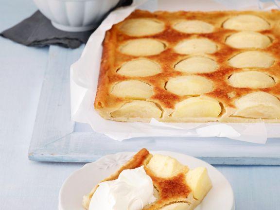 Elsässer Apfelkuchen vom Blech ist ein Rezept mit frischen Zutaten aus der Kategorie Apfelkuchen. Probieren Sie dieses und weitere Rezepte von EAT SMARTER!