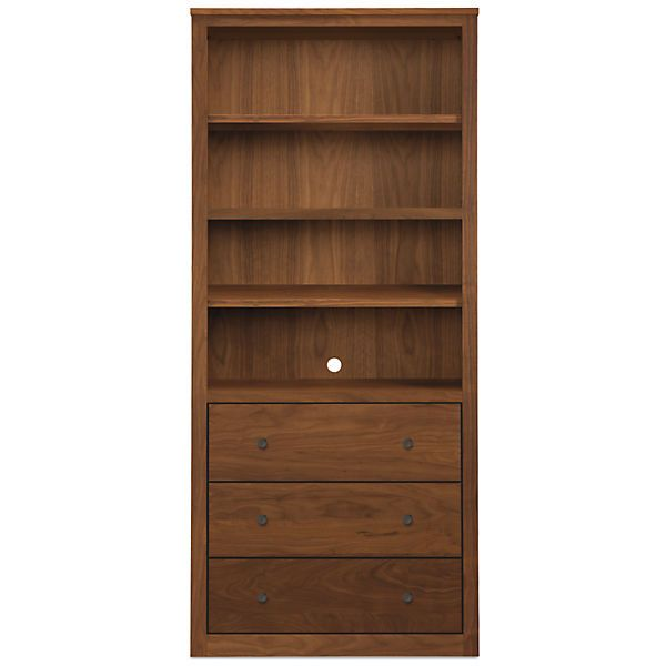 Woodwind Modern 72h Bookcases With Drawers Modern Bookcases Shelves Modern Office Furniture Modern Shelving Bookcase Storage
