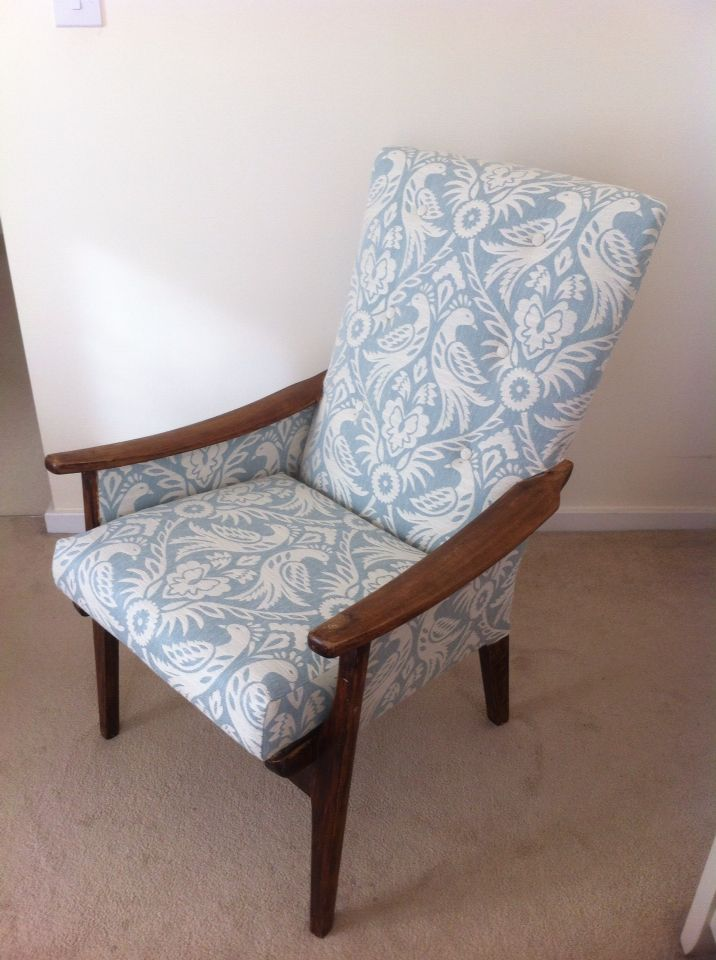 Parker Knoll chair #RebeccaHumphrisUpholstery