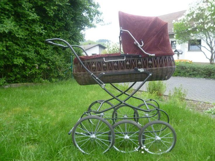 Knorr Treppensteiger Nostalgie Kinderwagen Korbkinderwagen ~ 70er J. ~ Retro | eBay