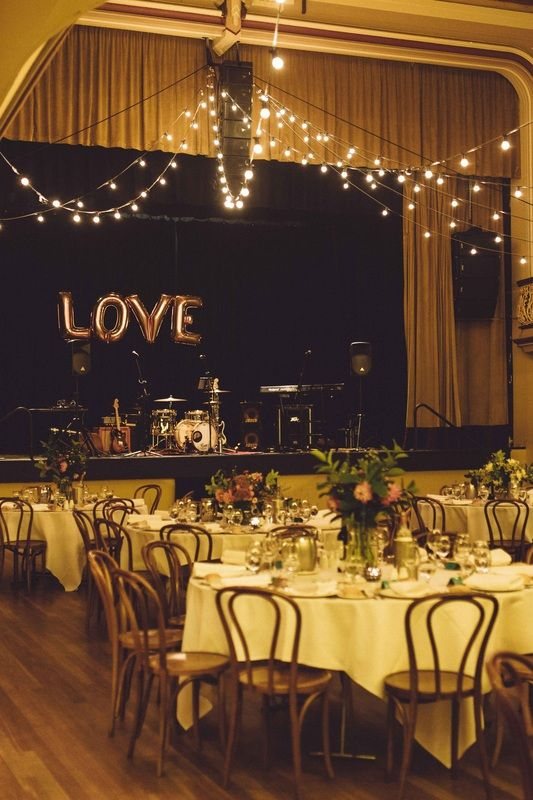 Warm reception with quirky touches, Melbourne Wedding  #wedding #melbourne #reception #ormondhall #love