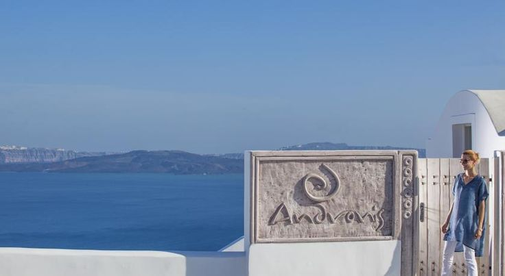 Andronis suites reflect traditional Aegean style. With minimalist design and decoration, each features a private furnished balcony with sea view.