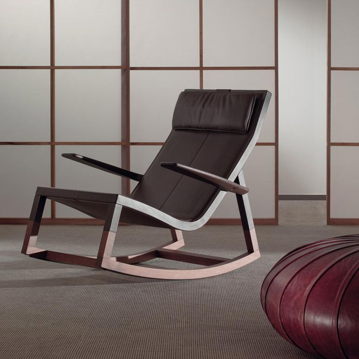 Donu0027do Rocking Chair By Jean Marie Massaud For Poltrona Frau
