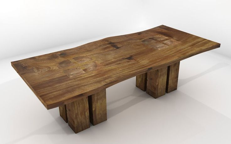 solid wood table Google Search Outdoor Kitchen  : 54169506dc9fe8d9b653986e210ba336 wood dining room tables solid wood dining table from www.pinterest.com size 736 x 460 jpeg 28kB
