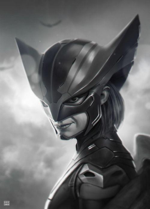 ArtStation - Hawkgirl: New Era, by Dave Keenan