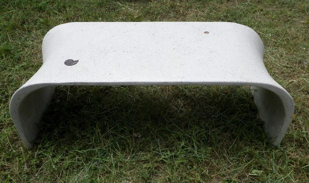 Picture of Fabric Formed Tea Table in GFRC
