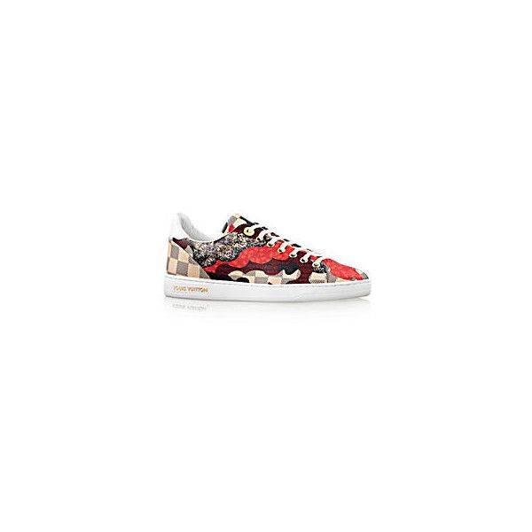 LOUIS VUITTON Overcloud Sneaker ❤ liked on Polyvore featuring shoes, sneakers, louis vuitton, louis vuitton shoes, louis vuitton sneakers and louis vuitton trainers