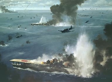 The Battle of Midway is one of the most famous as well as one of the most important battles of World War II as it marked the turning point in the Pacific theater. The battle was fought between the Imperial Japanese Navy and the US Navy only six months after the Japanese attack on Pearl Harbor and one month after the clash of the US and Japanese carrier aircraft in Coral Sea.