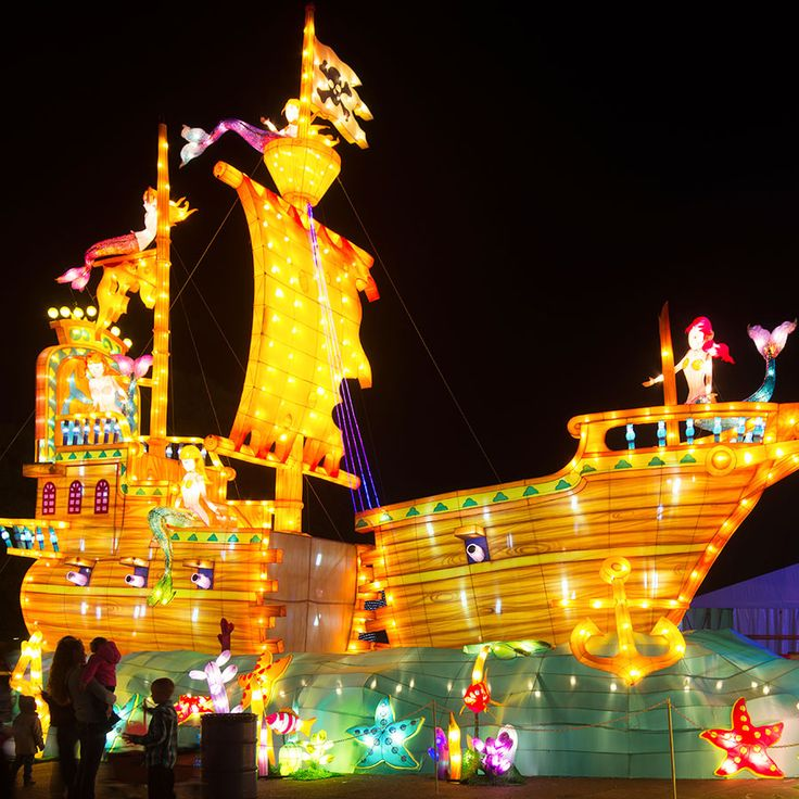 images of global winter wonderland | Worlds of Light | Global Winter Wonderland | Sacramento Christmas ...