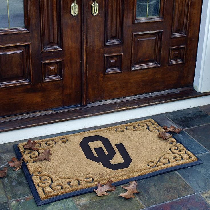 MEMORY Company Team Door Mat - Oklahoma - College