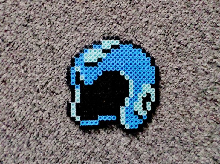 Long Black Fingers : Megaman Helmet, Punch Out Head, Link and Smoosh Perler Beads