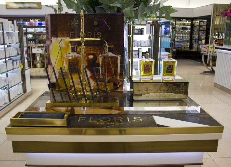 Floris - Harrods Perfume Concession - 2014