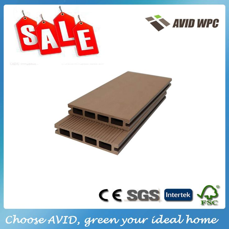 Diverse dimensioni e prezzo a buon mercato sconto pavimenti in legno/wpc decking consiglio in vendita