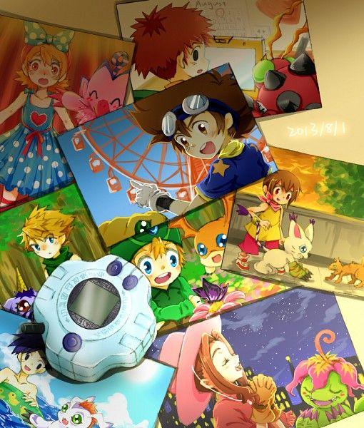 Tags: Anime, Digimon Zero 2, Patamon, Pink Outfit, Swing, Singer, Digimon