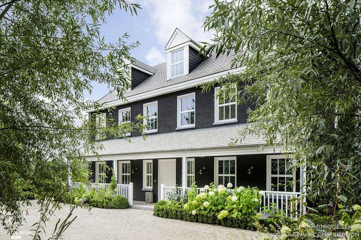 17 meilleures id es propos de maisons nouvelle angleterre sur pinterest maisons nouvelle - Deco stijl chalet ...