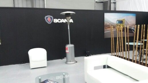 Arriendo Patio Heater Evento Scania Punta Arenas