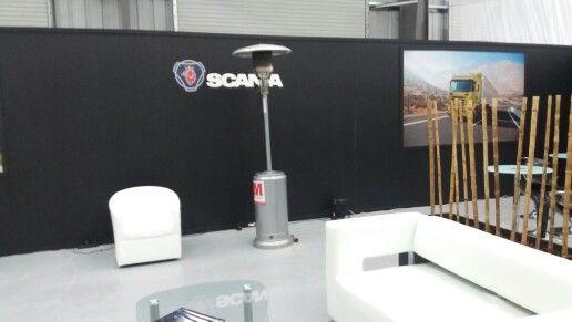 Arriendo Patio Heater Evento Scania Punta Arenas