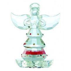 Galway Crystal - Gem Angel Single Votive 16.5cm. $22.50