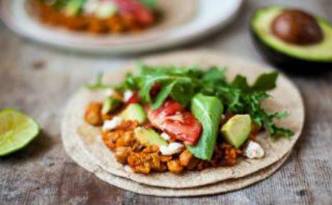 Smoky Chickpea Tacos #MeatlessMonday