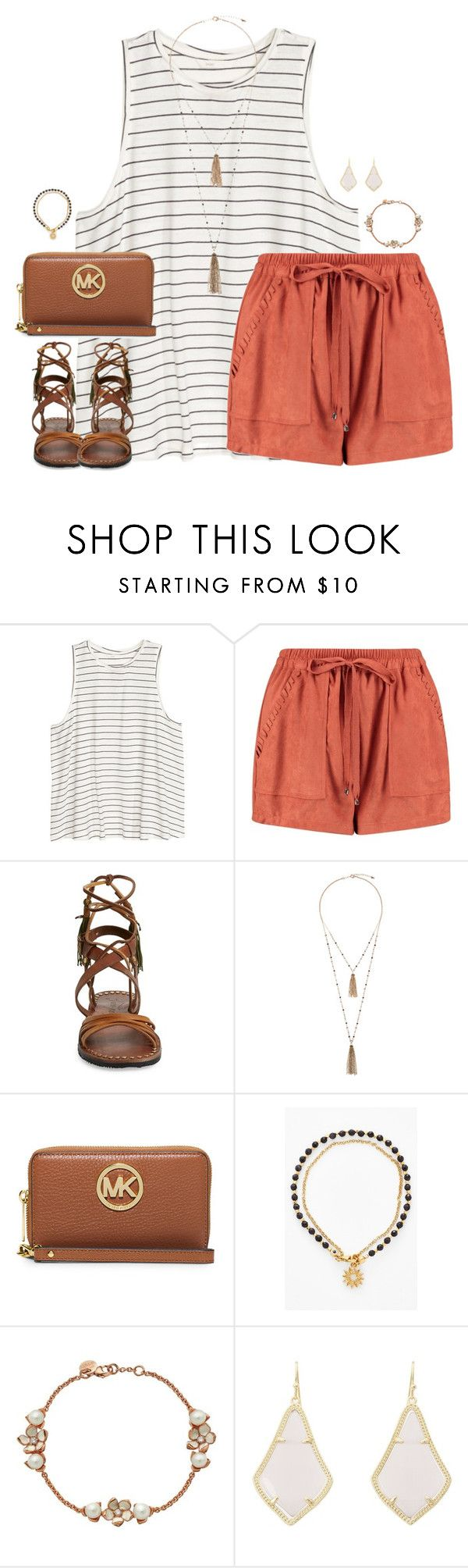 """//"" by kaley-ii ❤ liked on Polyvore featuring Boohoo, Free People, Eloquii, MICHAEL Michael Kors, Astley Clarke, Shaun Leane and Kendra Scott"