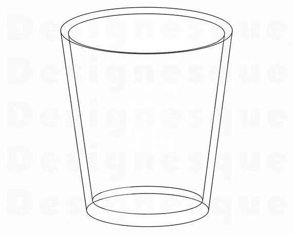 Glass Cup Svg Shot Glass Svg Glass Cup Clipart Glass Cup Etsy In 2021 Glass Cup Shot Glass Glass