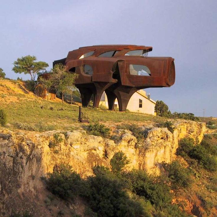 Robert Bruno's Steel House in Lubbock, Texas has stood out