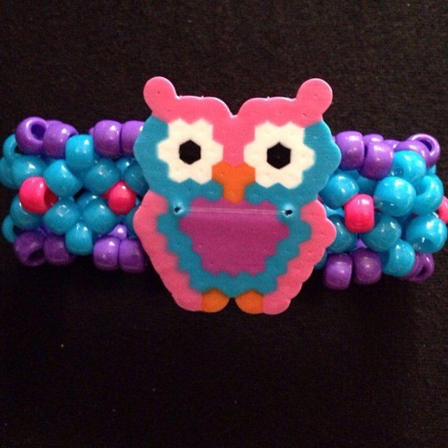 My most popular owl mini cuff. These are perfect for EDC! SHOP NOW! Link in my profile  Follow @KristynsKandi Custom Perler Kandi Pieces Gas Masks & Goggles! ALL ORDERS TAKE 1-2 WEEKS MINIMUM TO ARRIVE! Custom orders can be placed by filling out the Custom Order form on my website!  SHOP NOW! http://ift.tt/1VbPwMo SHOP CLOSED 5/21-6/14 ______________________________ #kandi #kandikid #kandiaddiction  #insomniacevents #samf2016 #ravebooty #Shakybeats #plurvibes #EDCny #mysterylandusa…