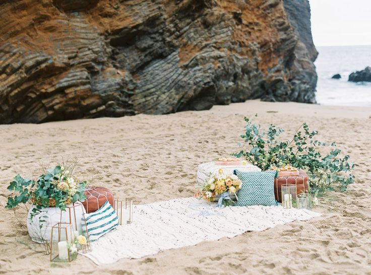 Romantic Coastal Beach Inspiration