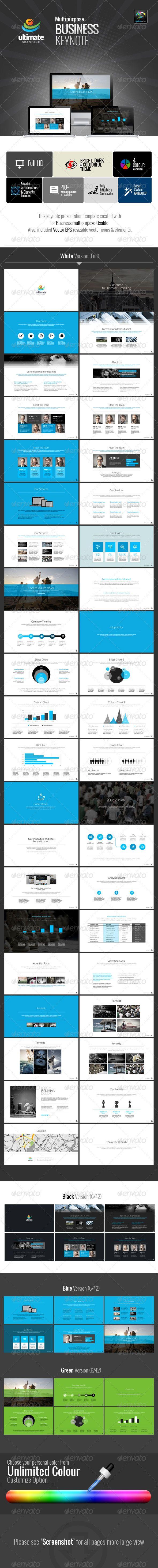 Ultimate Multipurpose Business Keynote   Keynote theme / template