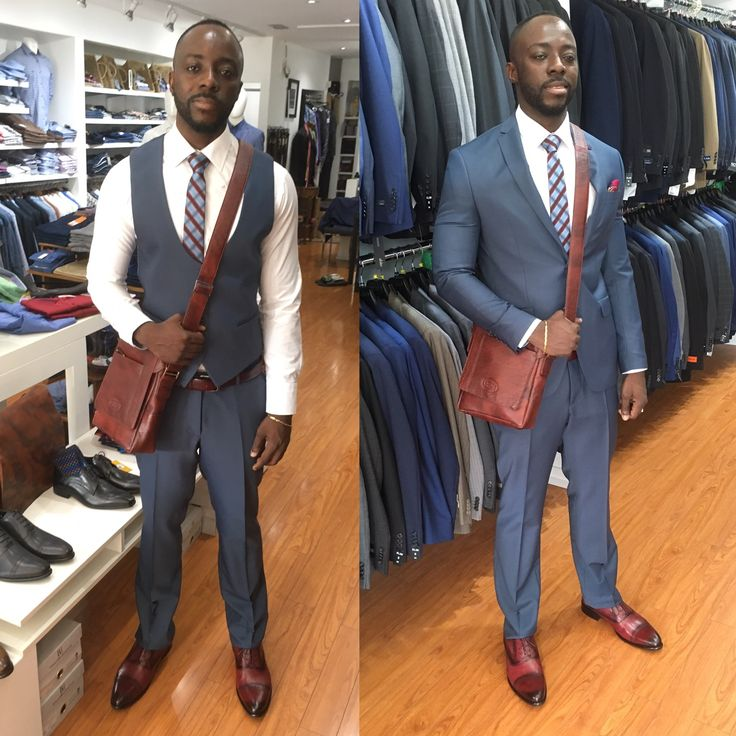 3 piece suit, you can wear 2 ways!