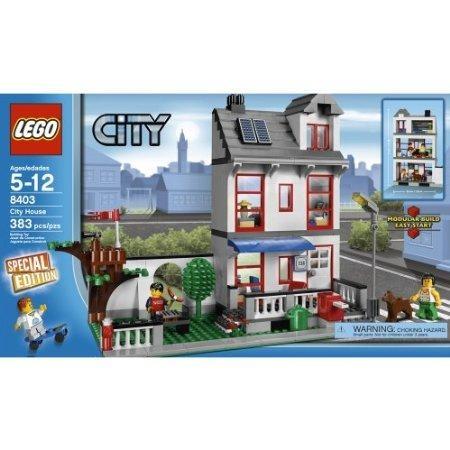 lego city house. ash
