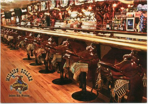 Million Dollar Cowboy Bar, Jackson Hole, Wyoming | josephbergen | Flickr