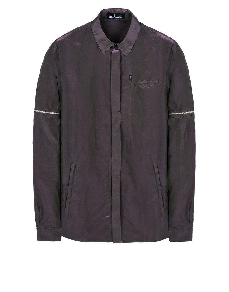 10207 DECONSTRUCT DROP POCKET SHIRT (TONIC COTTON, MESH) Camicia Maniche Lunghe Stone Island Uomo - Online Store Ufficiale