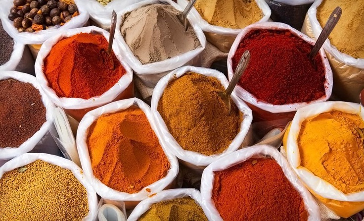 India Spices - we're chatting about food tonight with a travel food expert on #PinUpLive - come join us!