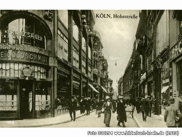 Köln / #Cologne, Hohe Straße (1913)