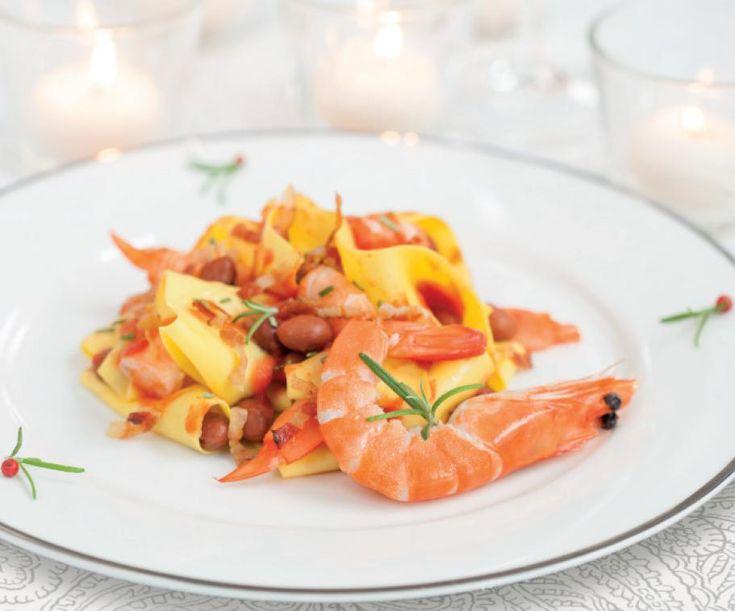 Lasagne scomposte con mazzancolle e fagioli per il vostro pranzo!La ricetta su www.gnamgnamstyle.it
