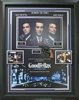 GoodFellas Cast Signed Framed Display.