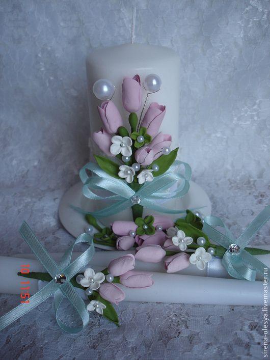 Купить свадебное  тюльпан