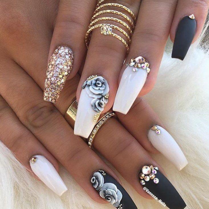картинки красивых нарощенных ногтей в форме балерина комплектация включает