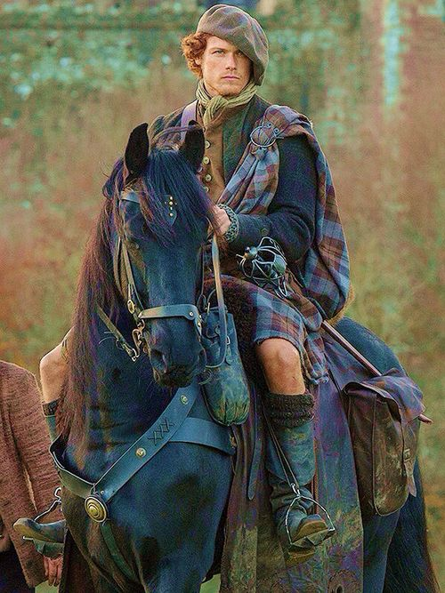 Sam Heughan as Jamie Fraser from Outlander                                                                                                                                                                                 More