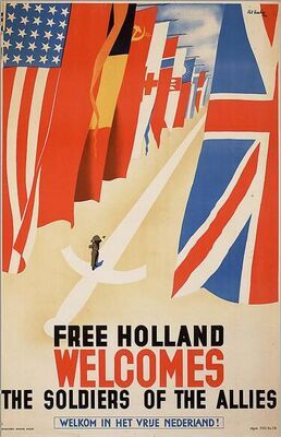 Free Holland Welcomes the Soldiers of the Allies