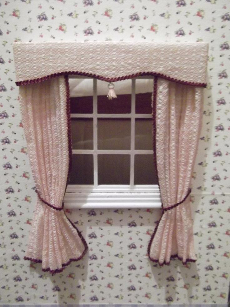 dolls house curtains