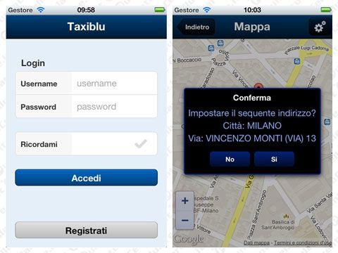 Vodafone - insieme a Taxiblu nasce l'applicazione TaxiMilano