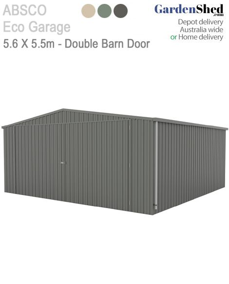 Absco Eco sheds are Australian made and owned for more than 30 years with products that are built to last.