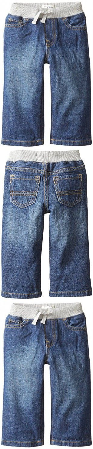 The Children's Place Baby Boys' Pull-on Liberty Denim Jean, Liberty Blue, 18-24 Months