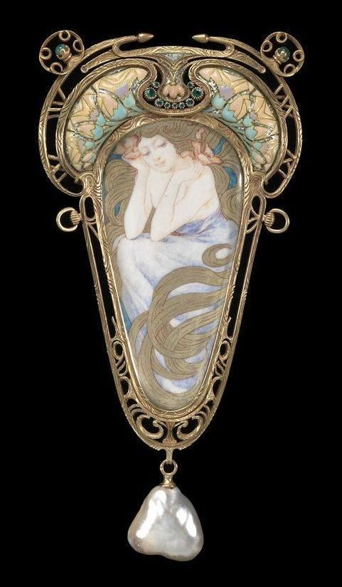 Alphonse Mucha per Georges Fouquet 1900 ca.
