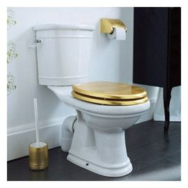 Abattant WC Feuille d'or